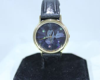 Mickey Mouse Hologram Rainbow Light Reflection Watch Unisex by LORUS