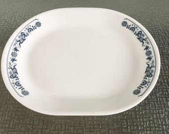 Corelle Livingware Old Towne Blue Serving Plate or Platter