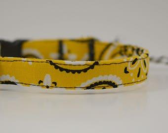 1/2 Inch bandana collar