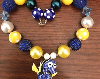 Finding Dory Chunky Bubble Gum Necklace (Child/Toddler)