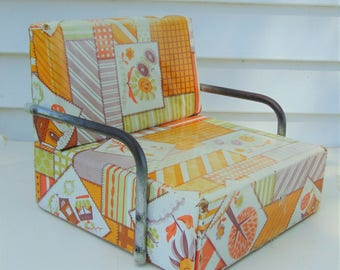 Vintage Booster Seat, Booster Chair, Childs Booster Seat, Booster Seat,  Kids Dining, Toddler Chair, Toddler Chair With Arms, Cute Chair