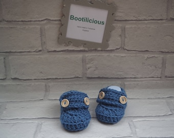 baby boy booties/crochet baby booties/baby shower gift/crochet baby loafers/loafer shoes/baby booties/christening shoes/new baby gift.