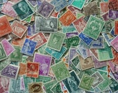 300 Stamps - Colors -  Big Lot of 300 Worldwide Stamps for Decoupage, Paper Crafts, Collage and More...