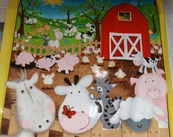 QuiltingTreasures Animal Farm