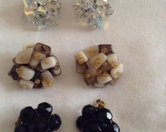 Vintage Clip-on earring Collection