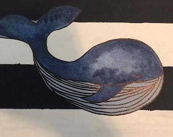 Nursey Cute Whale