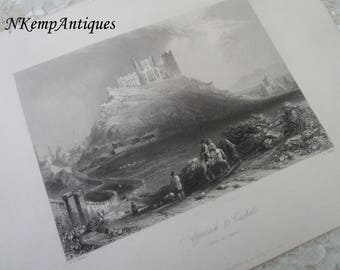 Antique Irish engraving Tipperary