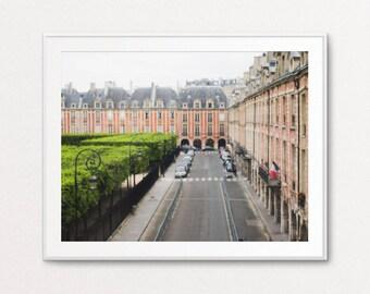 Paris Photograph, Paris Print, Paris Images, Paris Decor, Paris Bedroom Decor, Place des Vosges Photo, Paris Photo, Paris Wall Art Print