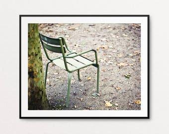 Luxembourg Gardens Photo - Paris Photography, Paris Print, Paris Chair, Paris Decor, Paris Bedroom Decor, Paris Wall Art Print