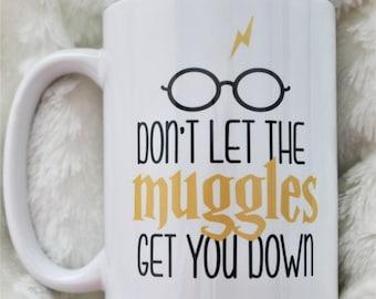 Harry Potter Mug, Dobby, Muggles, Custom mug, personalized mug, personalized gift, handmade, Birthday gift, hogwart mug, gift mug