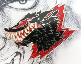 Beast of Darkness Enamel Pin