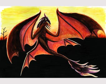 Dragon over Cinders