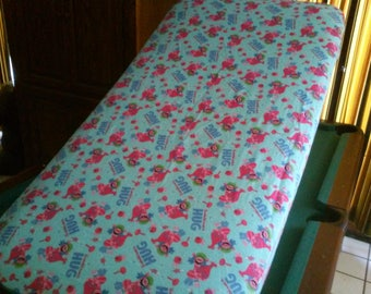 Trolls Fitted Crib Sheet / Flannel Infant Bedding/Standard Fitted Flannel Poppy Crib Sheet /You Could Use A Hug Toddler Bed Fitted Sheet
