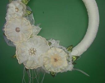 Wreath, door wreath, wall wreath,  spring wreath,  summer wreath. Wedding wreath
