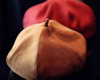 Beret-Pumpink Yellow-Red