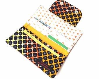 womens wallet with coin purse, womens wallet slim womens wallet, womes credit card holder women, minimalist wallet, ankara african wallet