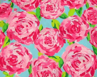 "15"" x 19"" Lilly Pulitzer Cotton Poplin Fabric First Impression"