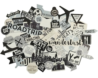 Kaisercraft Just Landed Collectables Die Cut Shapes