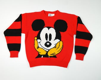 Vintage Mickey Mouse Sweater