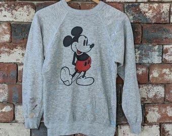 Vintage 70s Disney Casuals Mickey Mouse crewneck