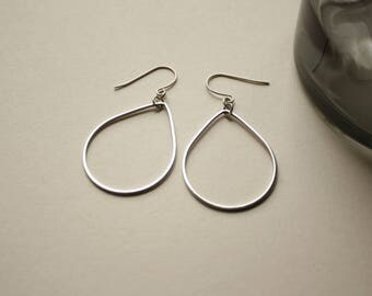 Drop drop - Silver earrings