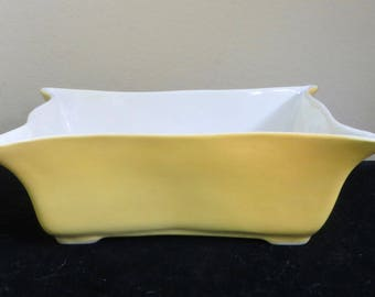 Mid Century Pioneer Ceramics Of California Rectangular Bowl Dish