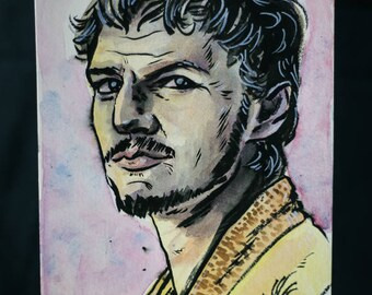 Original Ink: Oberyn Martell from GoT