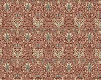 Pre-order: Snakehead in Sage by Morris and Co from the Merton collection for Free Spirit #PWWM010-Sagex by 1/2 yard