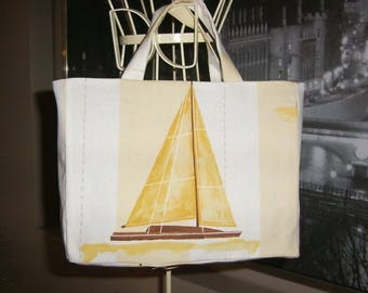 Artisanal french manufacturing bag model junior Tote large lar