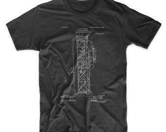 Wright Brothers Flying Machine Patent T Shirt, Airplane Nursery, Aviation Shirt, Pilot Gift, Aviation Baby, PP0288
