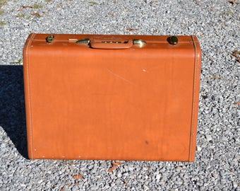 Vintage Samsonite Suitcase Streamlite Hard Shell Luggage Photo Prop Home Decor PanchosPorch