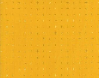 Fragile - Almost Plus Mustard by Zen Chic for Moda, 1/2 yard, 1634 16
