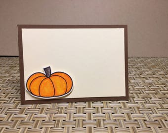 Thanksgiving placecards ( set of 6 placecards )