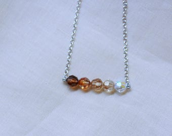 Cute Crystal Ball Necklace
