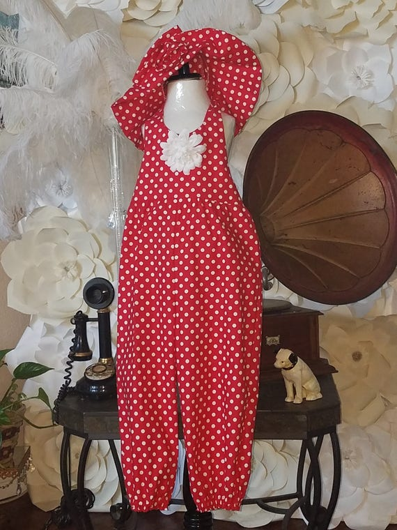 Minnie Mouse, Polka Dot Jumpsuit, Disney Polka Dot, Minnie Red Polka, Halter Jumpsuit, Toddler Halter Romper, Toddler Romper, Sister Dresses