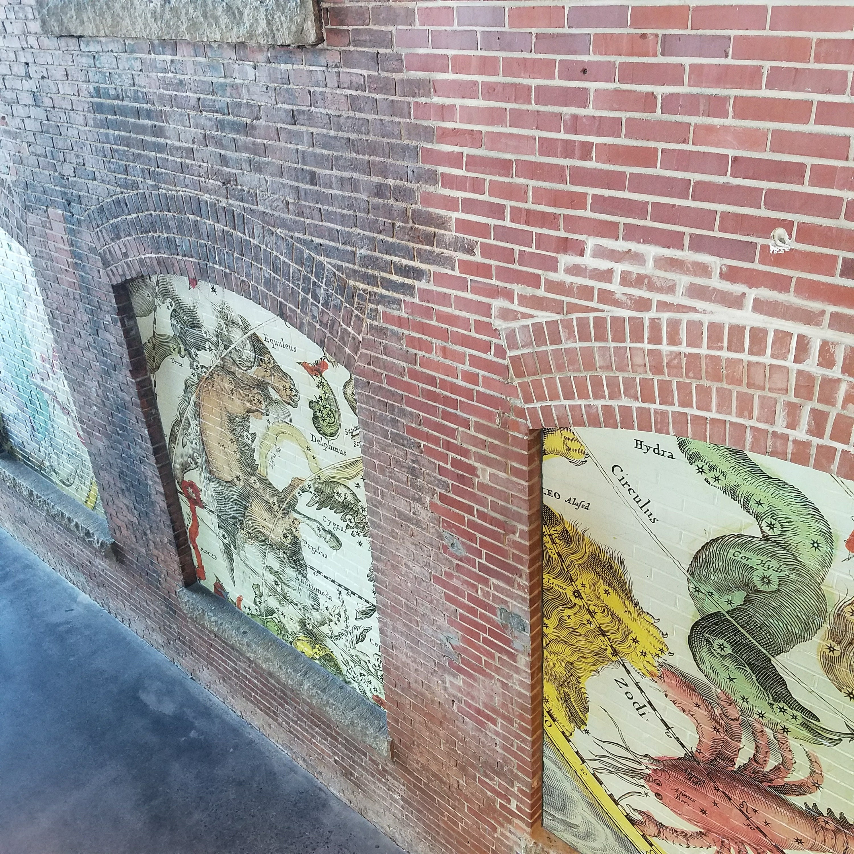 Constellation Mural: South Carolina State Museum   Nerd in the Brain