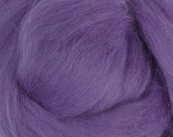 Merino Wool Roving / Combed Top / in DHG Violet