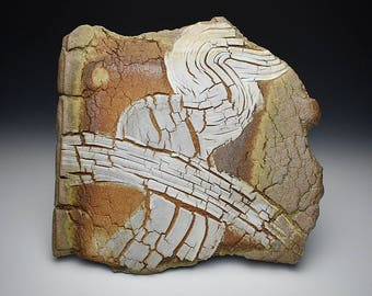 Ceramic Wood-fired Plate/Wall Tile