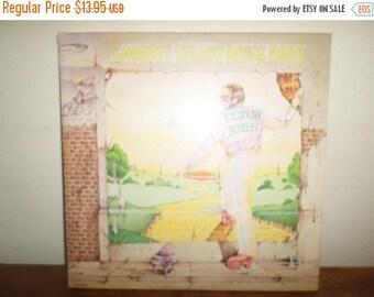 Save 30% Today Vintage 1973 Elton John LP Record Goodbye Yellow Brick Road Elton John Very Good Condition 11999