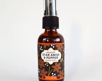 Star Anise & Pepper Aroma Spray