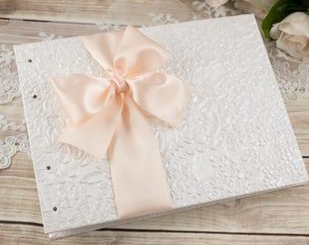 Wedding Brag Book, 4x6, Wedding Photo Album, Small Photo ALBUM, Blush, Mother of the Bride Gift, Wedding Album, Photo Book, MADE to ORDER