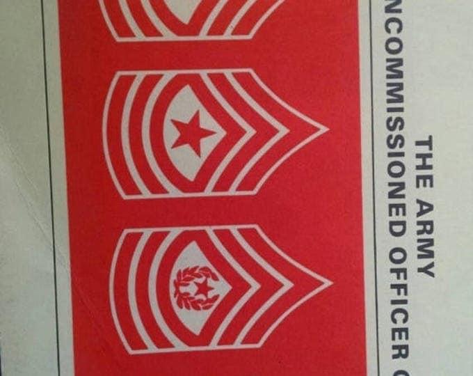 Retrocon Sale - The Army Noncommissioned Officer Guide March 1980 Military Memorabilia