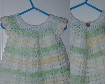 Babies crocheted dress