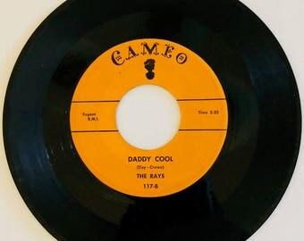 Vintage Vinyl 45 THE RAYS Silhouettes Cameo Regent B.M.I.