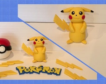 Pokemon Fondant Toppers
