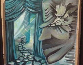 "Original painting ""Pathway"""