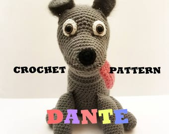 Crochet Dante Pattern From Disney-Pixar's Coco CROCHET PATTERN ONLY