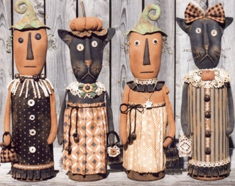 Primitive PATTERN Ladies Night Out
