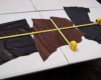 Assorted Brown Lambskin pieces Bundle