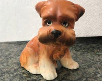1950s Vintage Porcelain Puppy Dog Figurine Made in Japan Lefton?